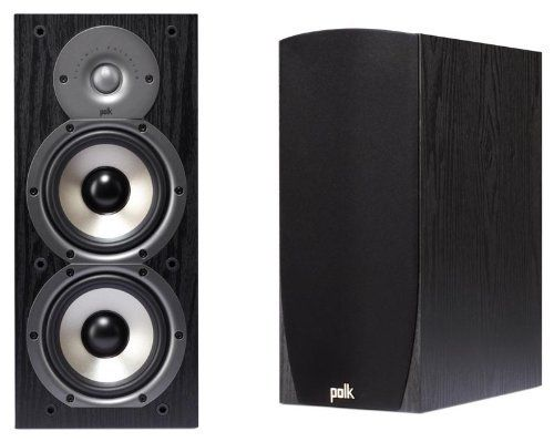Amazing Polk Audio Monitor 45B 2 Way Bookshelf Speakers Pair Black by Polk Audio $184 95 High efficiency design in a dual driver bookshelf size gives … Plan - Amazing sound monitor Fresh