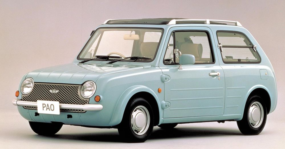 Nissan Please Bring Back Pao コンセプトカー 日産 パオ 日産