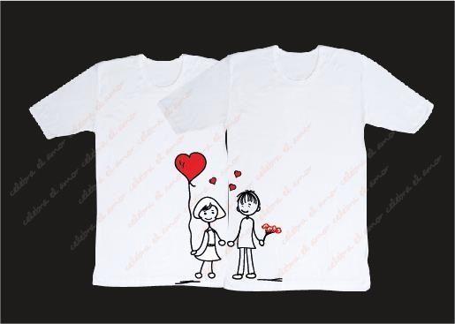 Resultado de imagen de camisetas decoradas motivos boda | Camisetas ...
