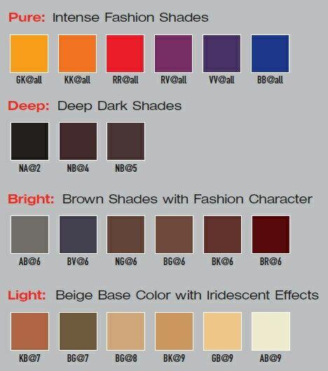 Elumen color chart also hair pinterest pastel and rh