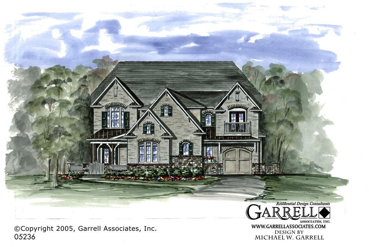 Garrell Associates Inc Pennington Manor House Plan