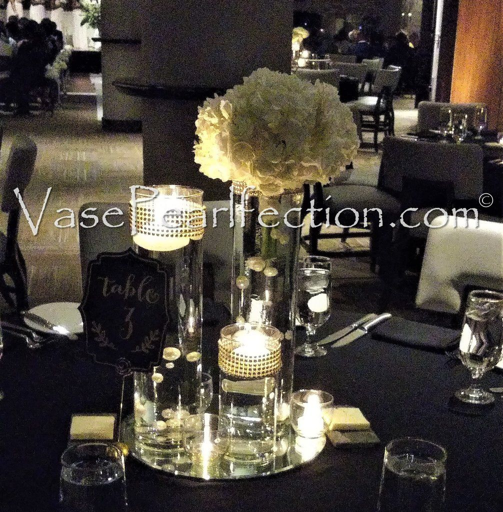 Ivory Mother Of Pearl Floor Vase In 2019: NO HOLE Ivory & White Pearls- Jumbo/Assorted Sizes Vase