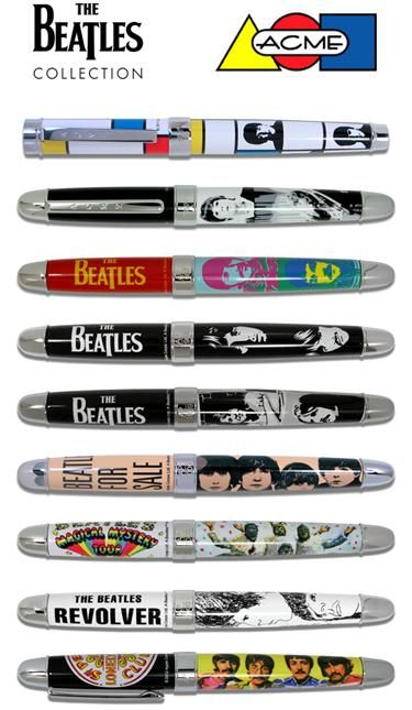 Acme Limited Edition Beatles Liverpool 4 Pen Set | Original Pens |  Pinterest | Pen sets, Beatles and Pen refills