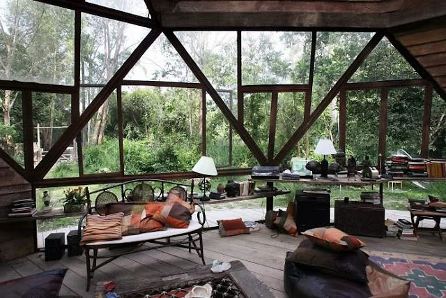 Moon to Moon: The Beautiful Wooden Dome House In A Forest