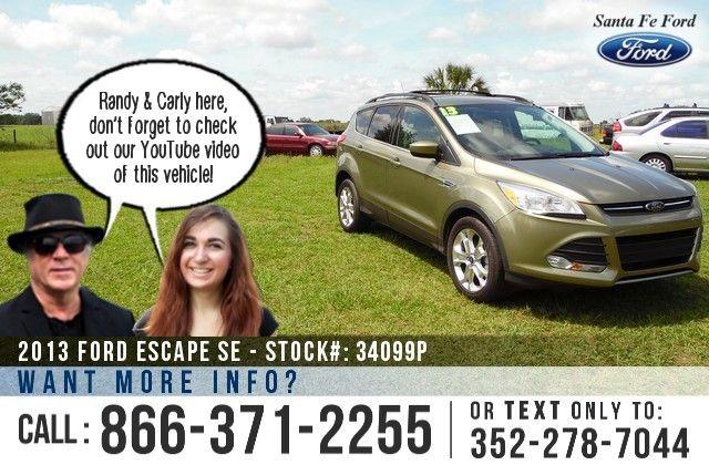 2013 Ford Escape Gainesville Fl Miles 10 692 Stock 34099p