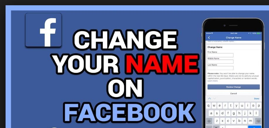 How To Change Name On Facebook With Images How To Change Name