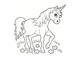 coloriage licorne coloriages pinterest licornes coloriage