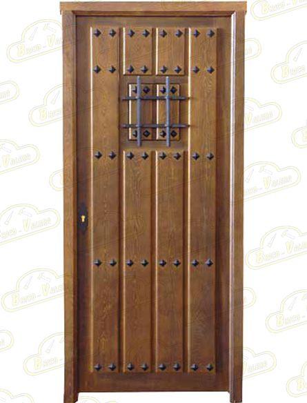 Puertas de calle modelo pc 07 comunidad gora for Puertas macizas exterior