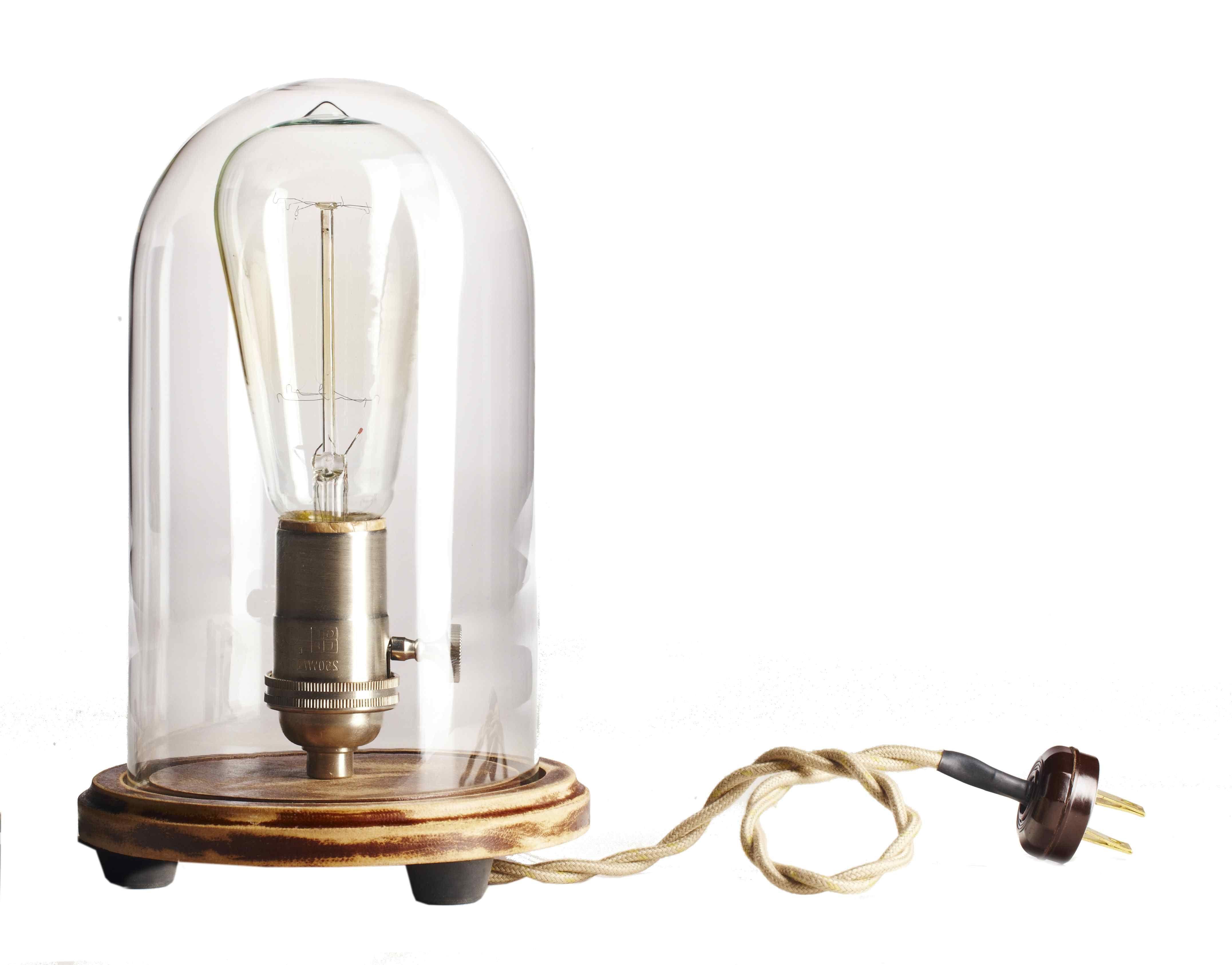 Bell Jar Table Lamp | Bell jars, Jar lamp and Searching