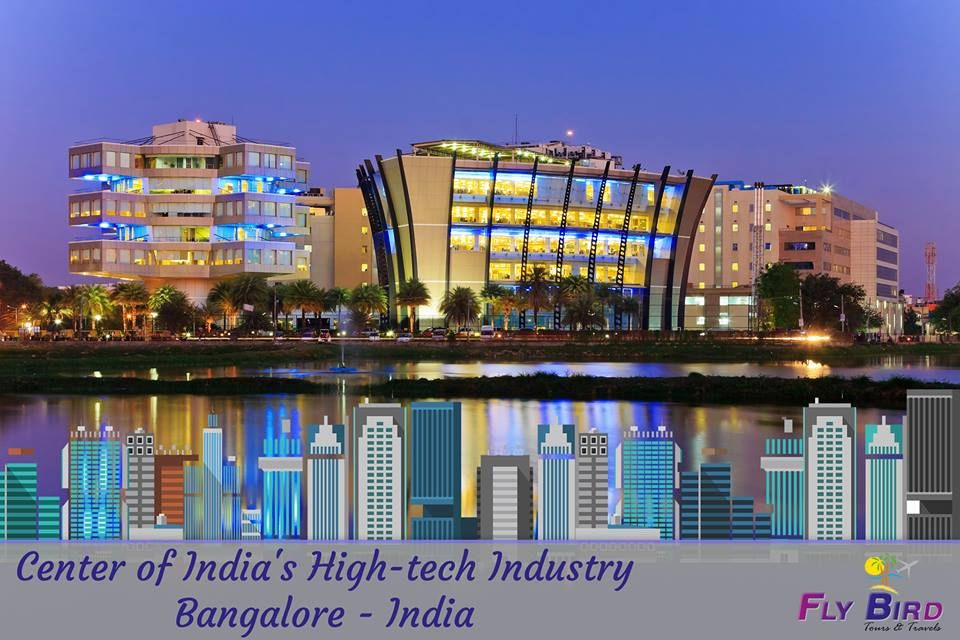 Center of India's Hightech Industry Bangalore India