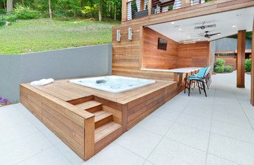 Contemporary outdoor space from Houzz | Contemporary ... on Houzz Outdoor Living Spaces id=92850