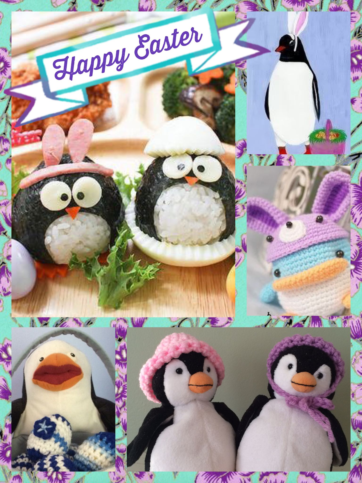 Happy easter the penguins say hello pinterest happy easter happy easter negle Image collections