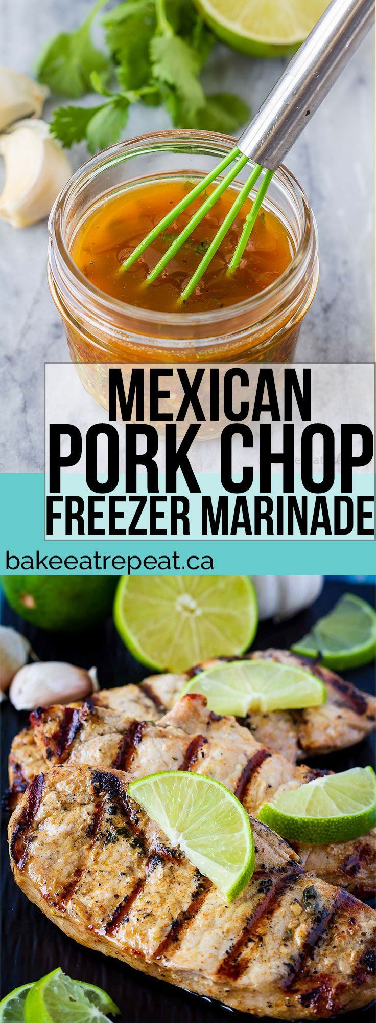 This Mexican pork chop marinade is easy to mix up and adds so much flavour to yo...   -  Yummy Recipes