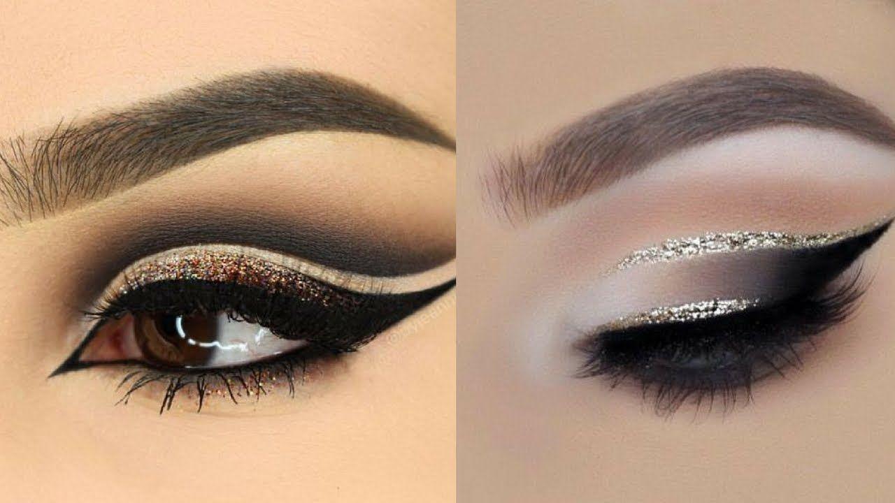 Colorful Glitter Smokey Eye Makeup Tutorialc 6 Make Pinterest
