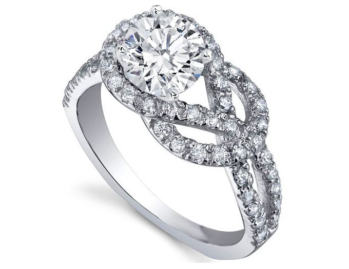 love knot diamond engagement ring really really like this ring