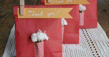 9 inspirações usando o papel para fazer lembrancinhas de casamento