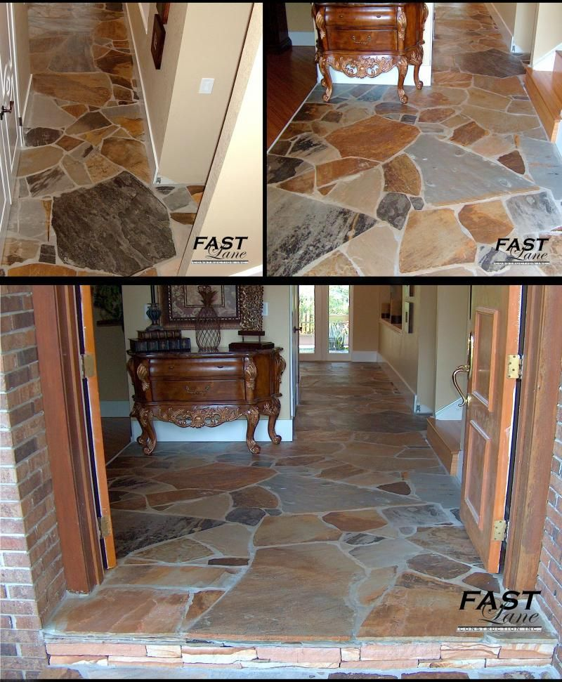 Fast Lane Construction Natural Stone Home Interiors Stone