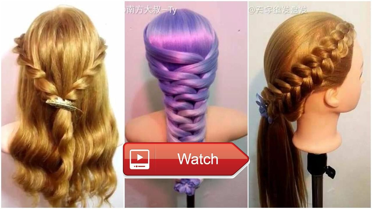Top amazing hairstyles tutorials compilation u hairstyle ideas