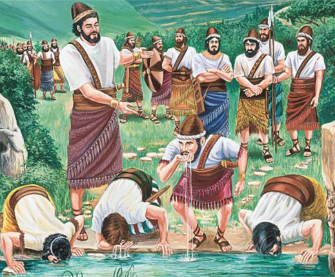 Gideon Le A Mi 300 Kong | Baibal Tuanbia | Bible images, Gideon bible,  Bible pictures