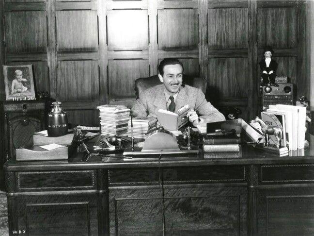 Walt Disney - office