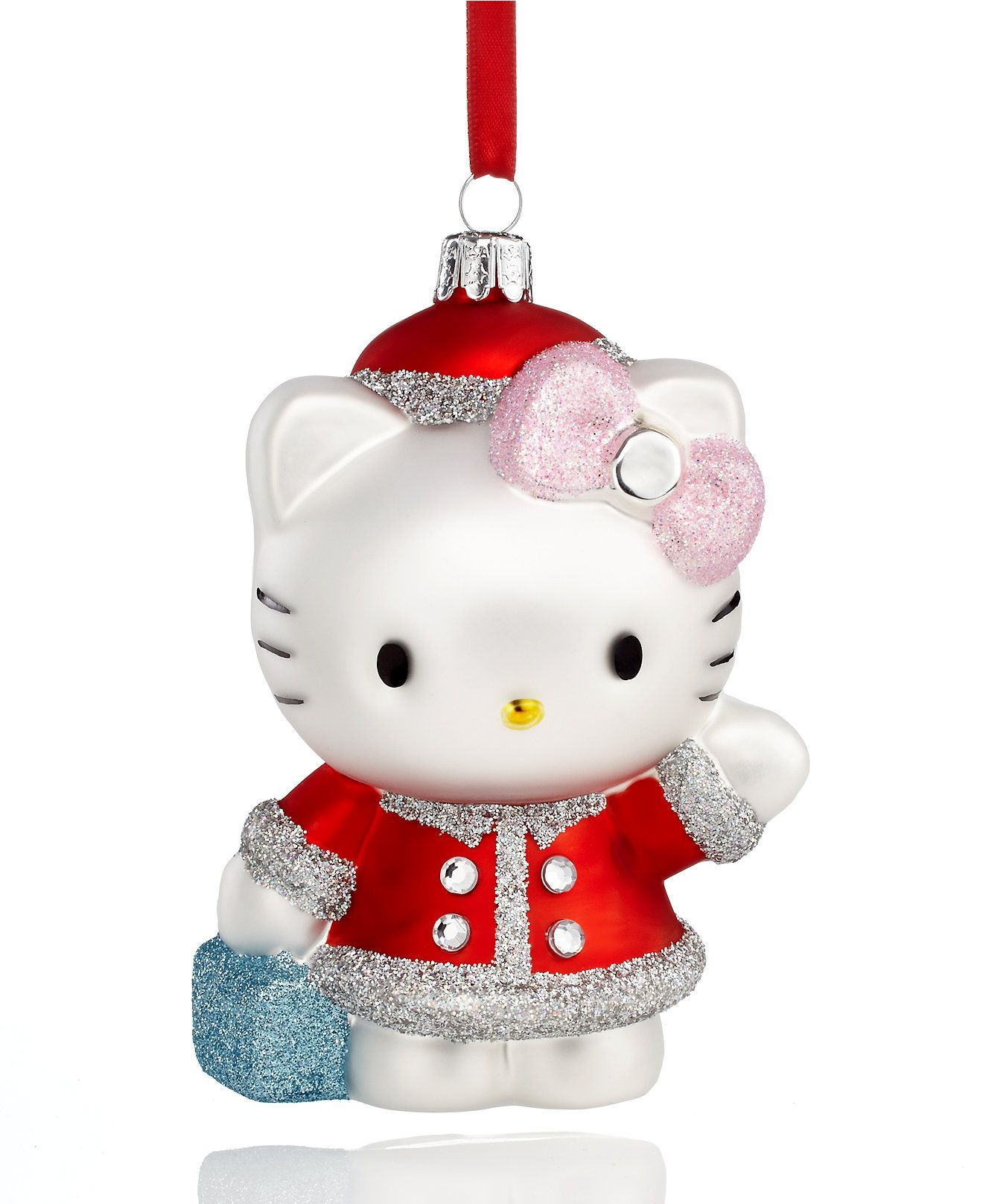 Kurt Adler Hello Kitty Ornament Christmas Ornaments