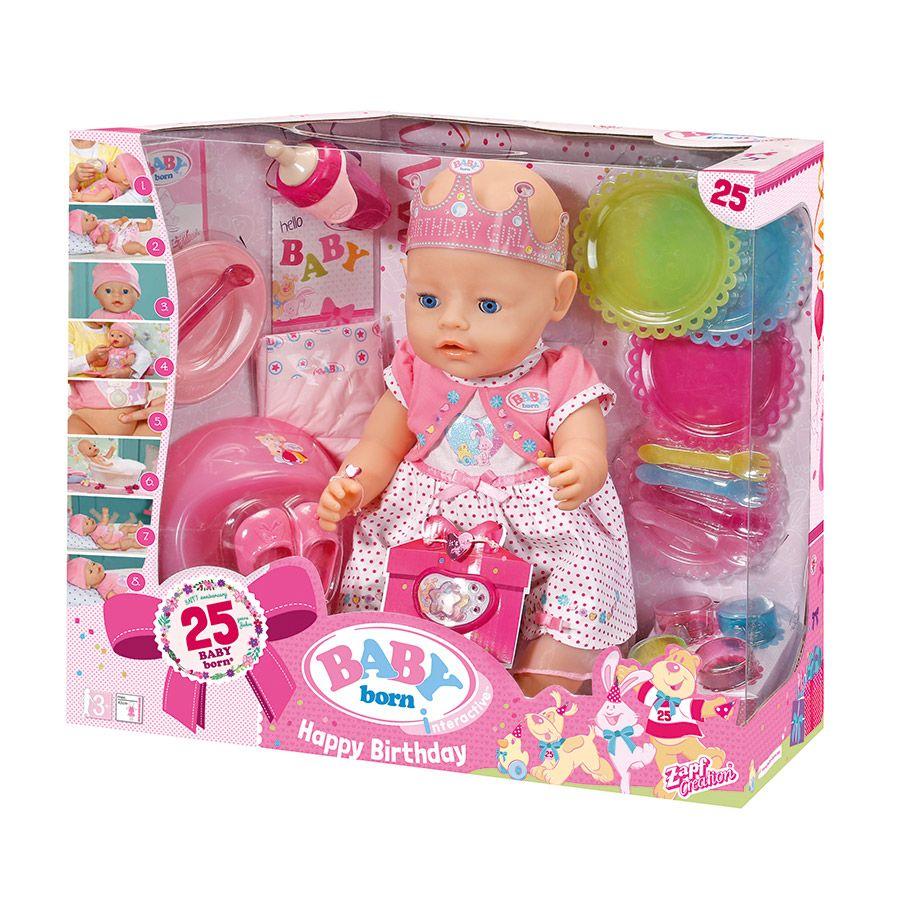 "Baby Born Interactive Happy Birthday Doll ToysR""Us"