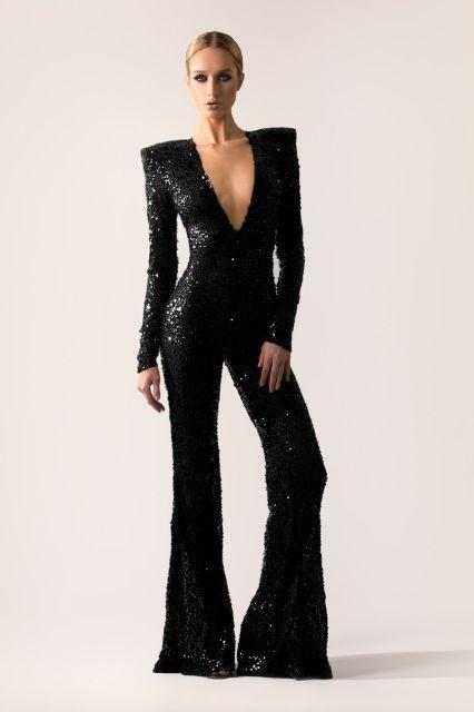 vraiment pas cher acheter réel sélection premium combinaison soirée pour femme | 70's Disco | Combinaison ...