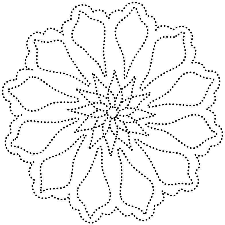 Mandala | Узоры в технике нитяной графики, Живописные ...