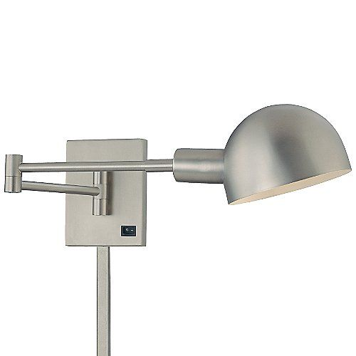 118 direct wire p3 swingarm wall lamp by george kovacs at lumens com