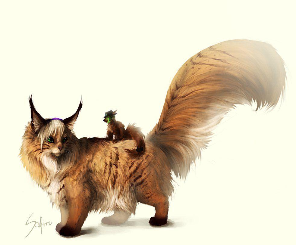 Fluffy tail. by Safiru