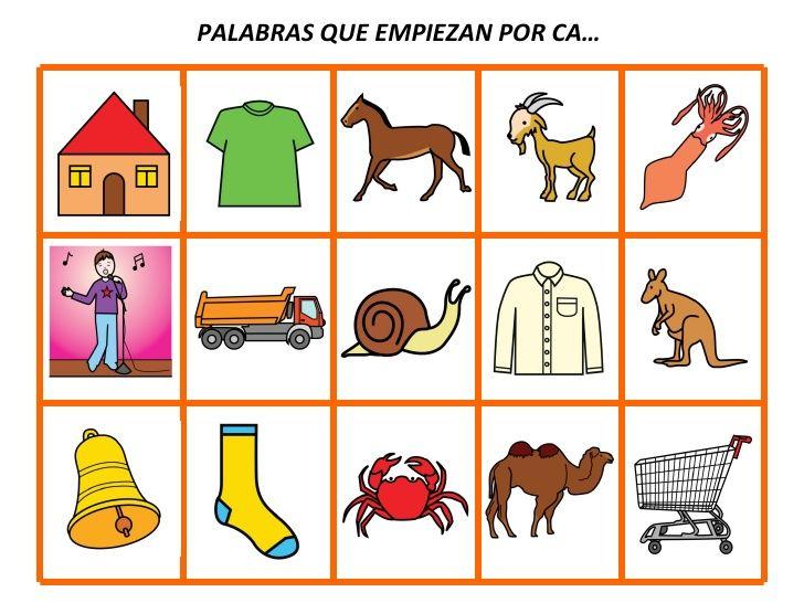 39216646 Palabras Que Empiezan Por Ensenanza De Las Letras Letras De Canciones Infantiles Lectura De Palabras