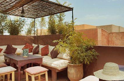 Earth Café Vegetarian Cafe Marrakech Outdoor Furniture