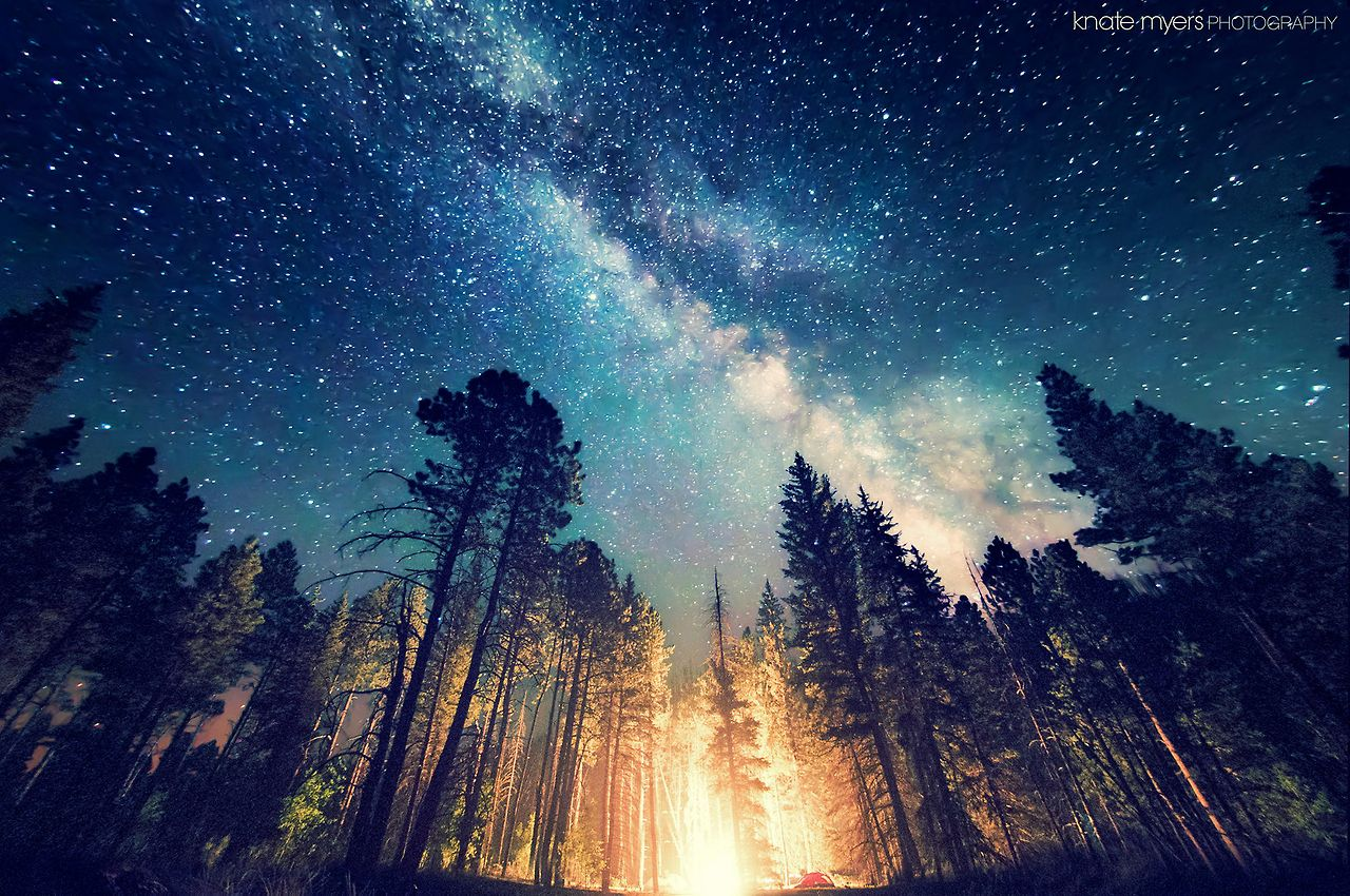 Nature Landscape Night Skies Sky Full Of Stars