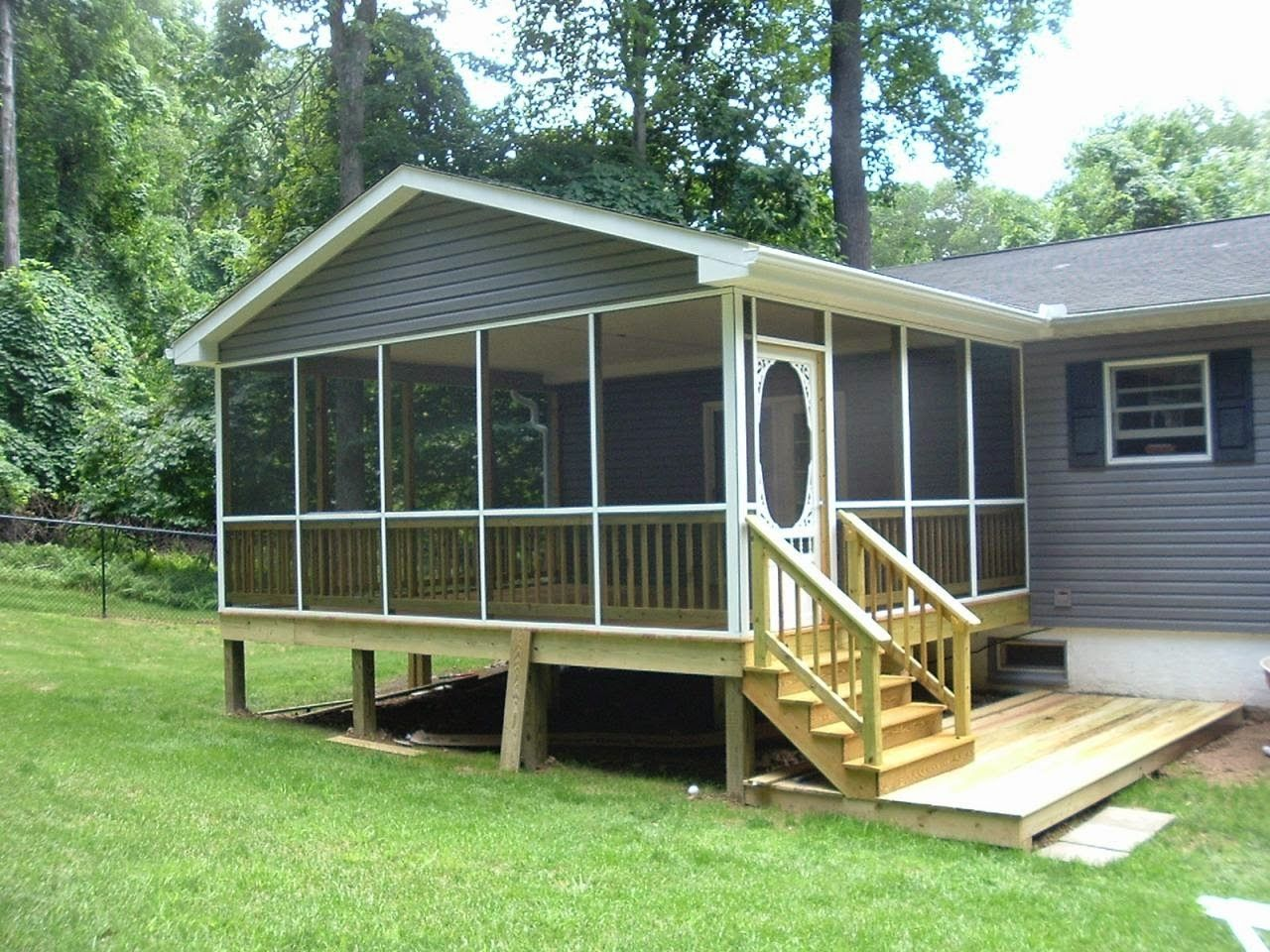 Back Porch Designs For Mobile Homes Mobile Home Porch Porch