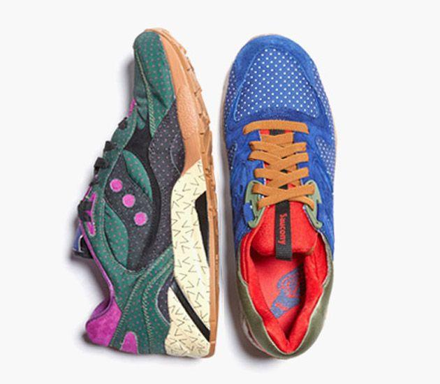 Bodega X Saucony Polka Dot Pack Urban Sneakers Running Shoes Nike Sneakers