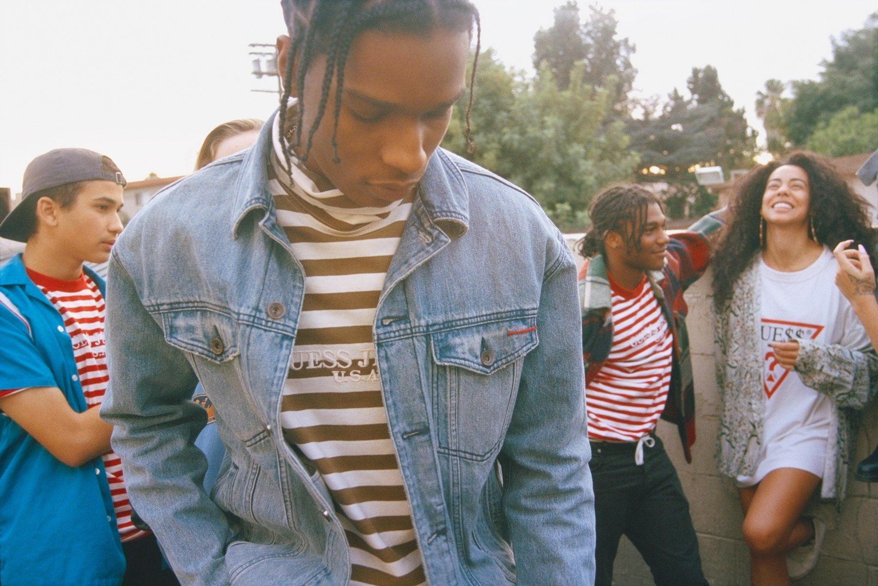See A$AP Rocky's Dope New Denim Line