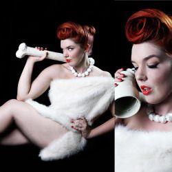 Wilma Flintstone Hair Makeup