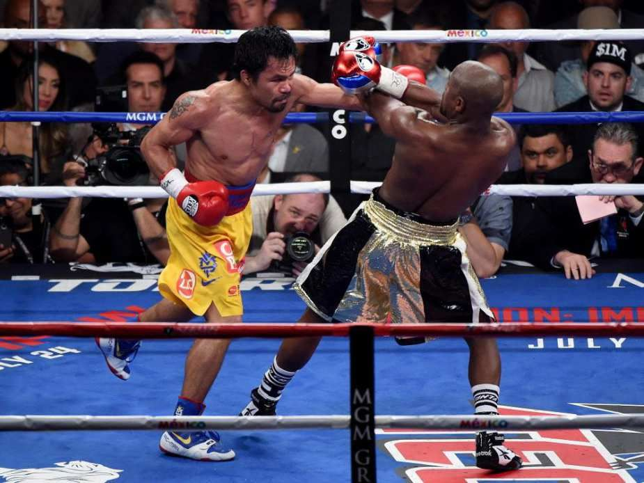 Gallery Mayweather Vs Pacquiao Title Fight Boxing Images Boxing History Mma Workout