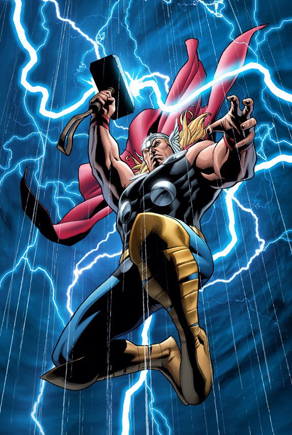 Thor is a fictional character, a superhero in the Marvel comics universe. Created by Stan Lee he first appeared in Journey into Mystery #83 in 1962. Blood-son of Odin, All-Father of the Asgardians, and Jord, who was also known as Gaea, the goddess who was one of the Elder Gods. Odin sought to father a son whose power would derive from both Asgard and Midgard. Thor is the Asgardian god of thunder and possesses the enchanted hammer Mjolnir, which grants him the ability of flight and weather…