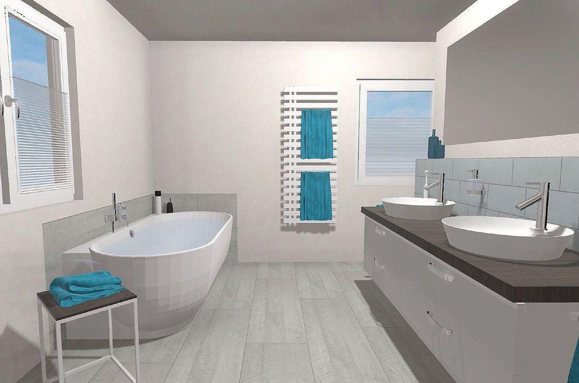 Frieling Das Moderne Bad Mit T Losung 16 Qm In 2020 Badezimmer Planen Bad Grundriss Moderne Bader