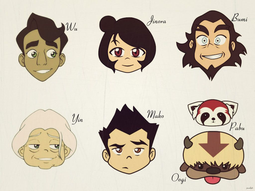 Legend Of Korra Chibi Book 3 And 4