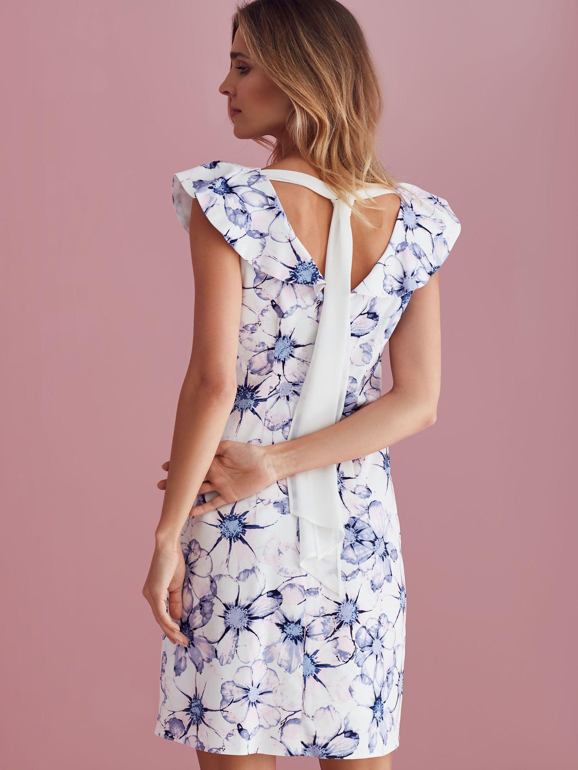 7beb73db Dopasowana sukienka w kwiatowy wzór w 2019 | Cocktail | Sukienka ...