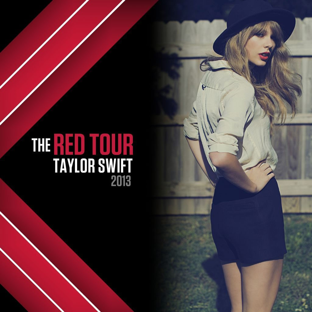 Taylor Swift Red Tour Poster | ... It Now [dot] com ...