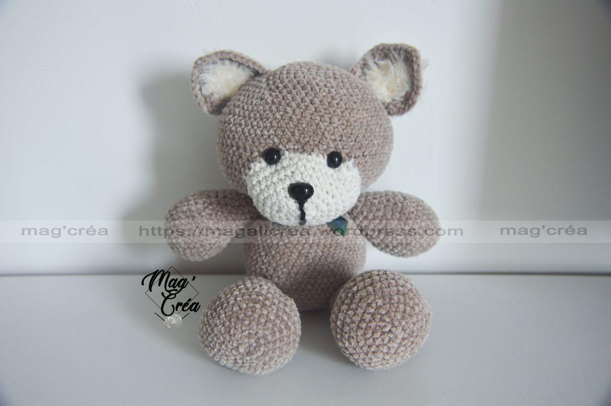 Petit Ours #crochet #freepattern #tuto #gratuit #ours #ourson #teddybear #bear #patrontricotgratuit