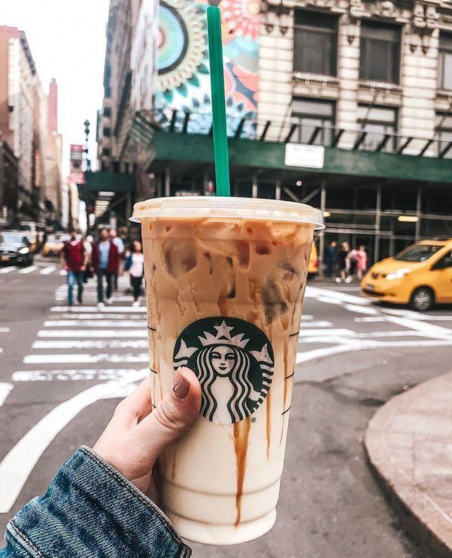 Iced coffee Starbucks | Iced starbucks drinks, Starbucks ...