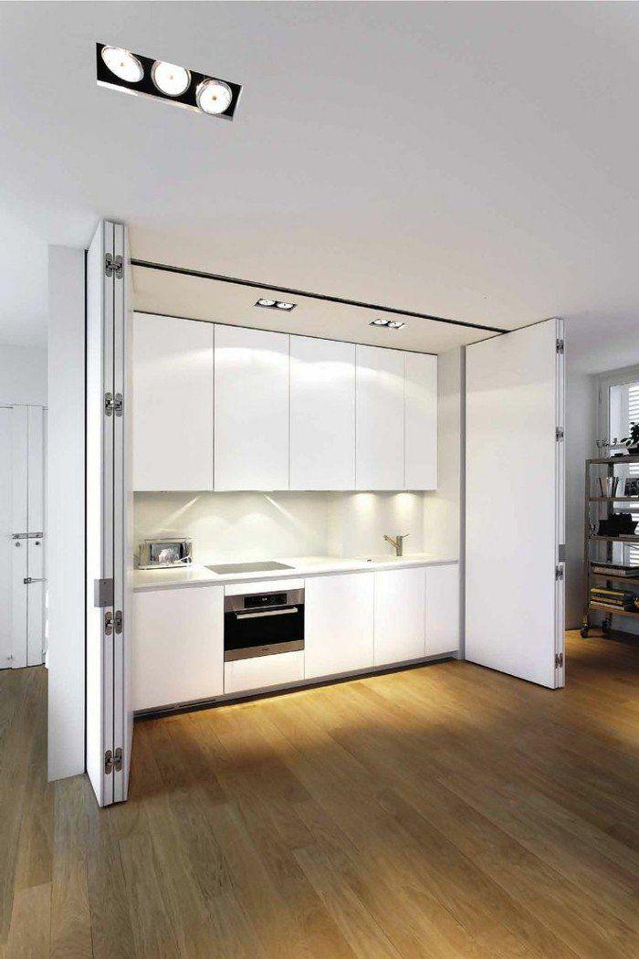 Les portes pliantes design en 44 photos! Kitchens, Doors and Interiors - comment changer une porte