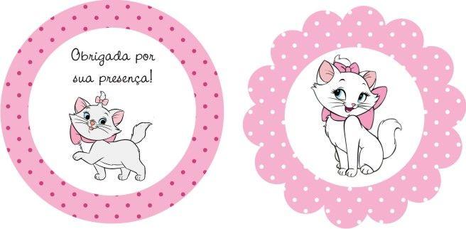 Mini Kit Personalizado Gatinha Marie para imprimir ...