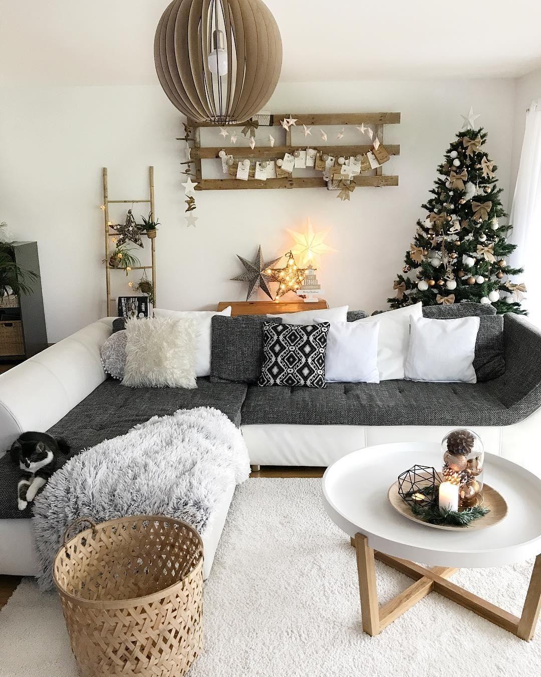 Merry Christmas! In diesem traumhaften Wohnzimmer können die