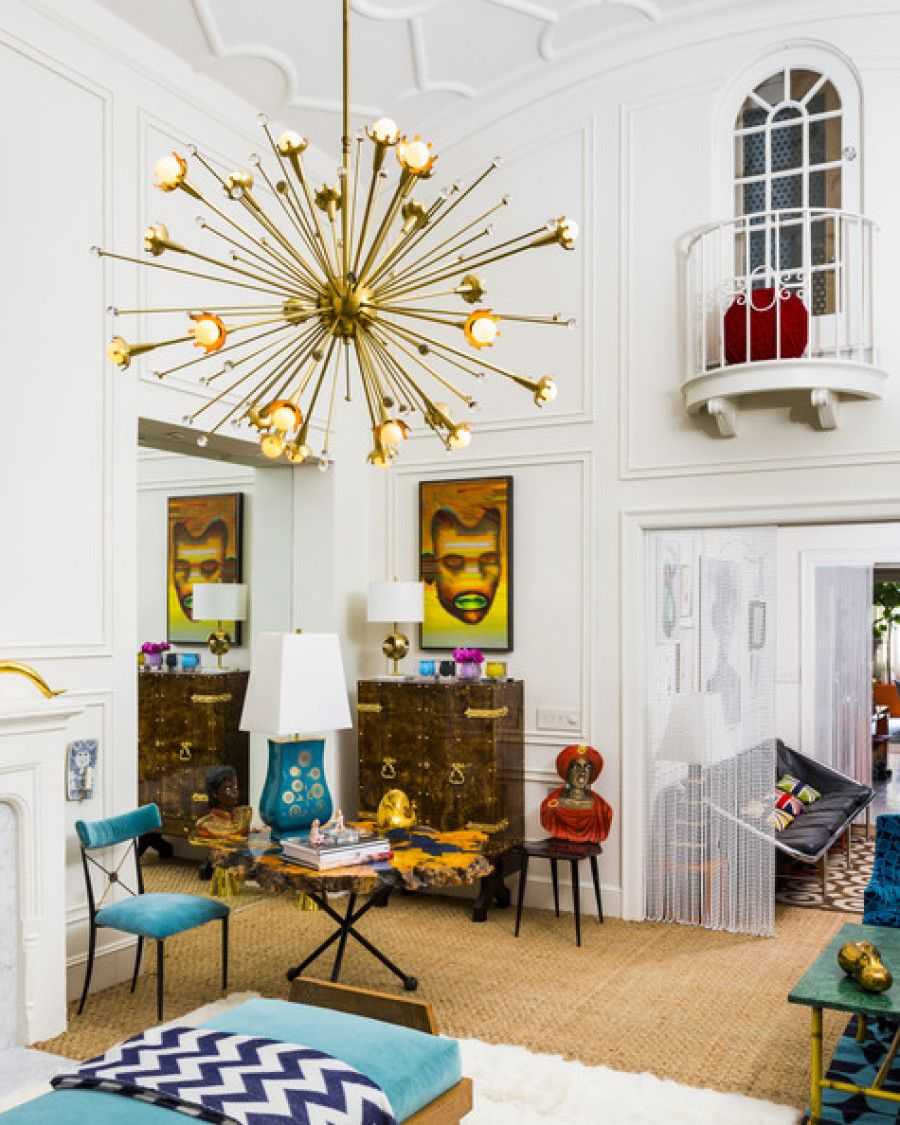 Jonathan Adler And Simon Doonan S Amazing Nyc Apartment Lonny Kronen Magazine