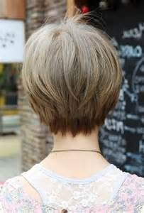 Short Hairstyles Front And Back Back View Of Short Haircuts Women